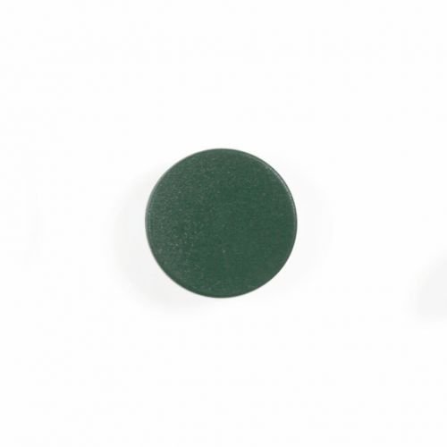 Bi-Office Green 20mm Round Magnets Pack 10's