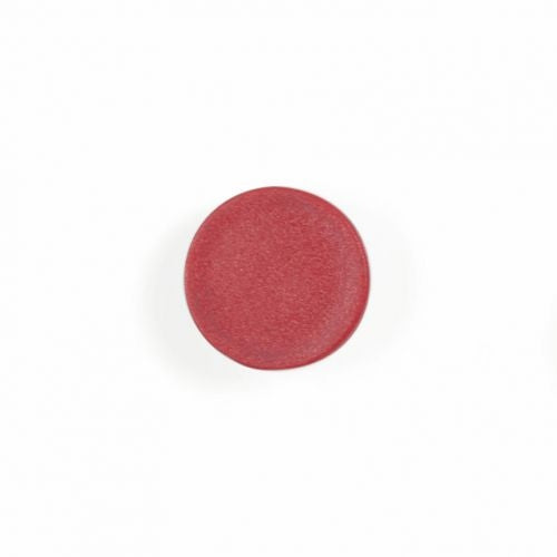 Bi-Office Red 10mm Round Magnets Pack 10's
