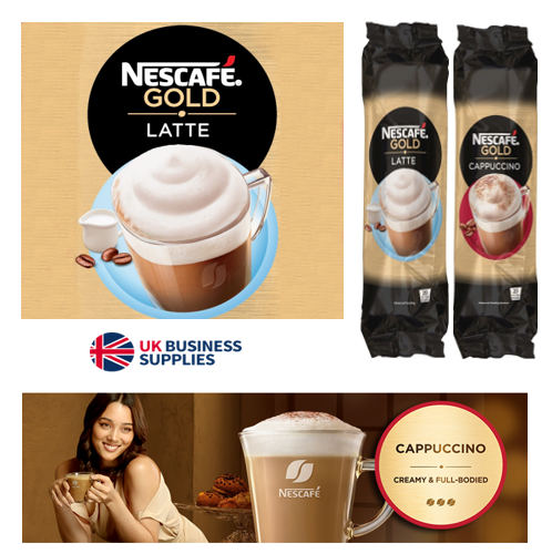 Nescafe Cappuccino Gold Coffee In-Cup Vending (8 x 25 Cups)