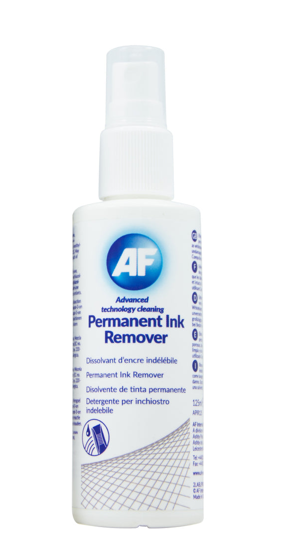 AF Permanent Ink Remover Spray 125ml