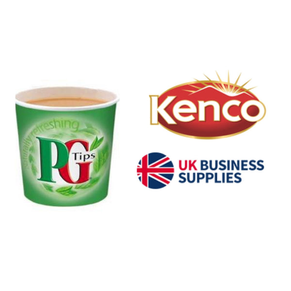 Kenco PG Tips White In-Cup 25s 76mm/7oz