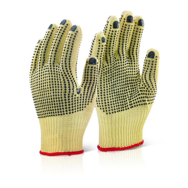 B-Click Kutstop Extra Kevlar Dotted Gloves (Pair)
