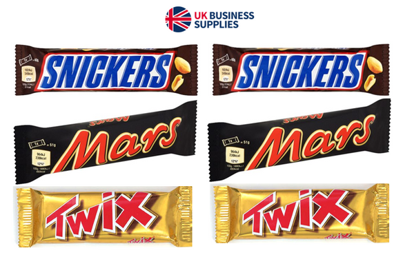 Mars Favorites 104 BARS ! Twix ,Mars Bars & Snickers
