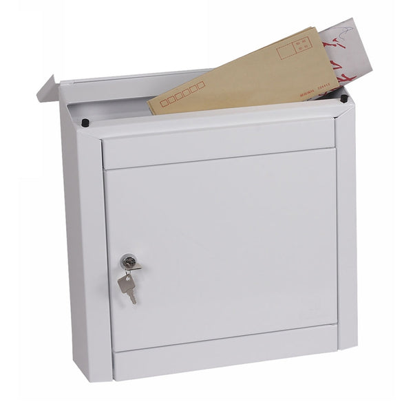 Phoenix Moda Top Loading White Mail Box (MB0113KW)