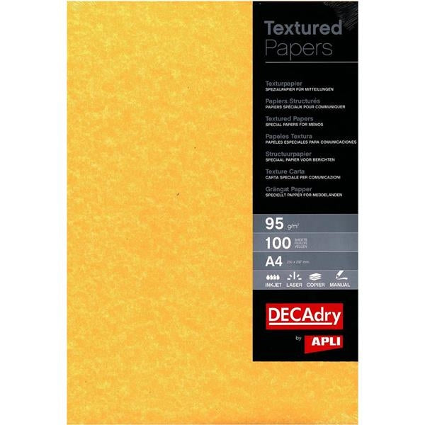 Decadry A4 Gold Parchment Paper 100 Sheets