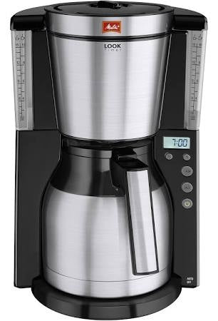 Melitta Look IV Thermal Filter Coffee Machine with Timer {Ref:6738044}