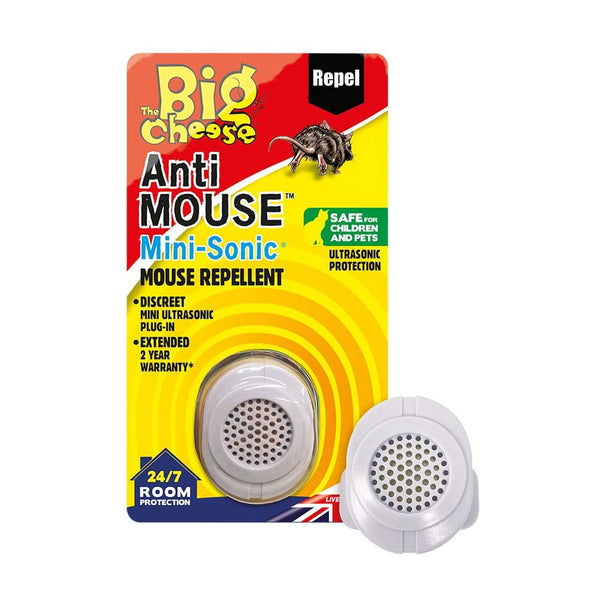 Big Cheese Anti Mouse Mini-Sonic Mouse Repellent {STV826}