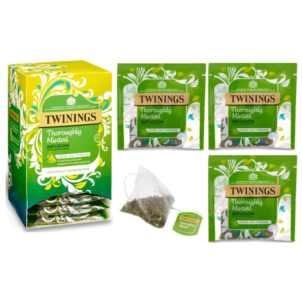 Twinings Thoroughly Minted Loose Leaf Pyramid Bags 15s
