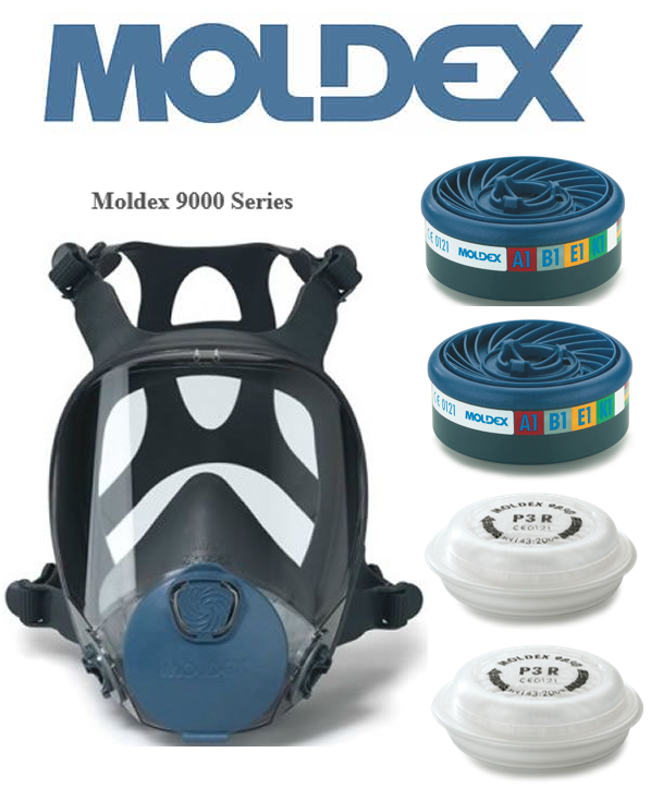 Moldex Full Face Medium Mask (9002)