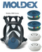 Moldex Full Face Medium Mask (9001)
