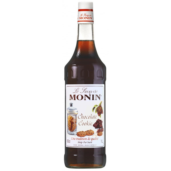Monin Chocolate Cookie Coffee Syrup 1 Litre (Plastic) (Full Pack 6's)