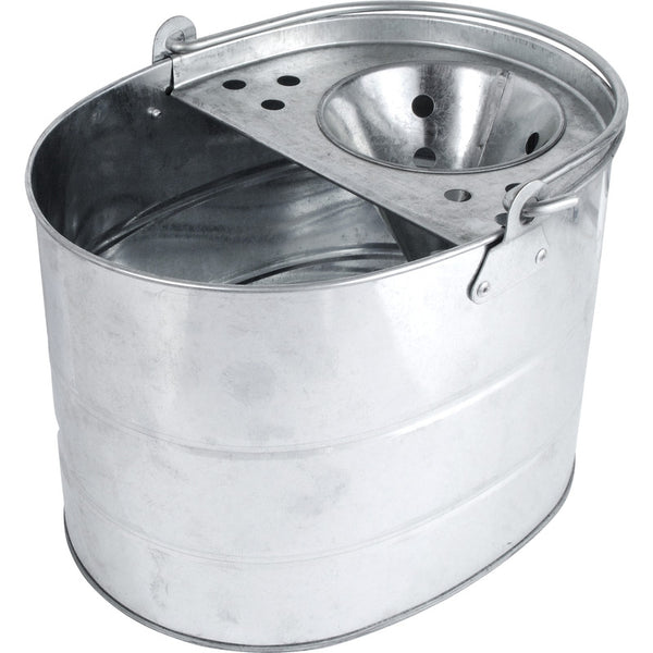 FiXtures®  Galvanised Mop Bucket 11 Litre capacity
