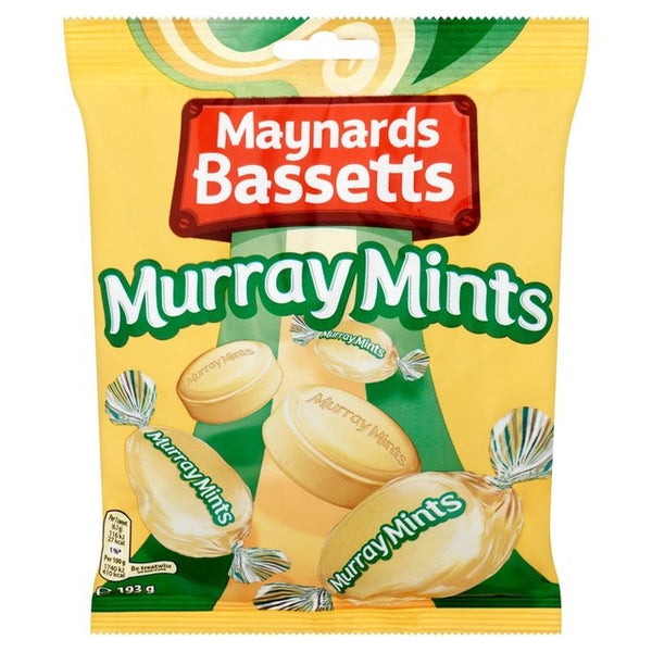 Maynards Bassetts Murray Mints Sweets Bag 193g
