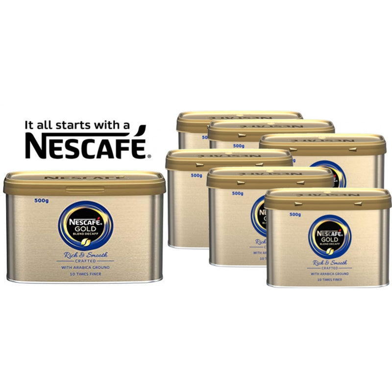 Nescafe Gold Blend Decaff Coffee Granules 500g