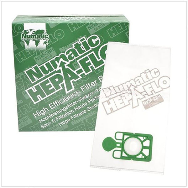 Numatic Henry NVM-2BH 3 Layer Hepaflo Filter Dust Bag High efficiency {Charles & George} Pack 10