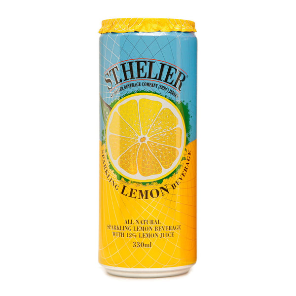 St. Helier Sparkling Lemon Cans 24x330ml