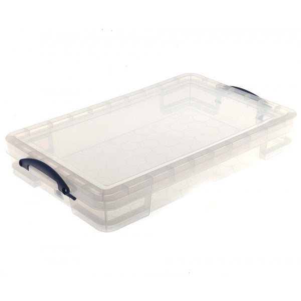 Really Useful Clear Plastic Storage Box 20 Litre