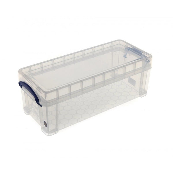 Really Useful Clear Plastic Storage Box 6.5 Litre