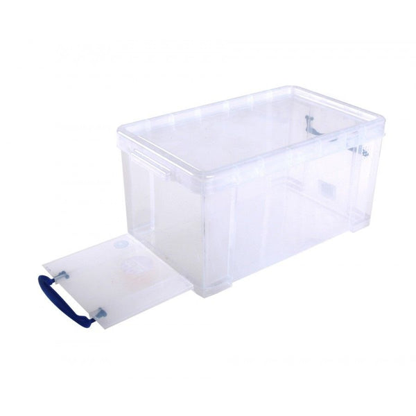 Really Useful Clear Plastic Storage Box 8 Litre