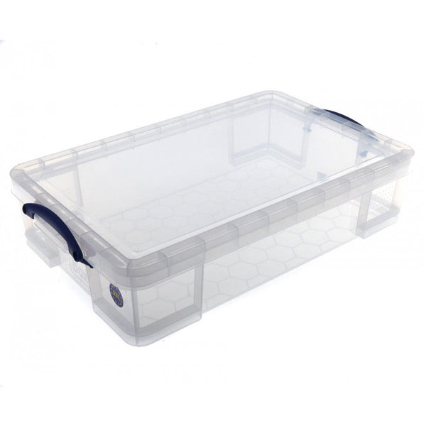 Really Useful Clear Plastic Storage Box 33 Litre