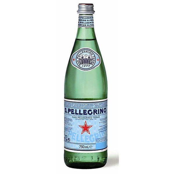 San Pellegrino Sparkling Water Glass 12x750ml
