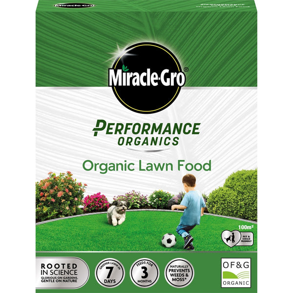Miracle-Gro Performance Organics Lawn Feed - 100m2