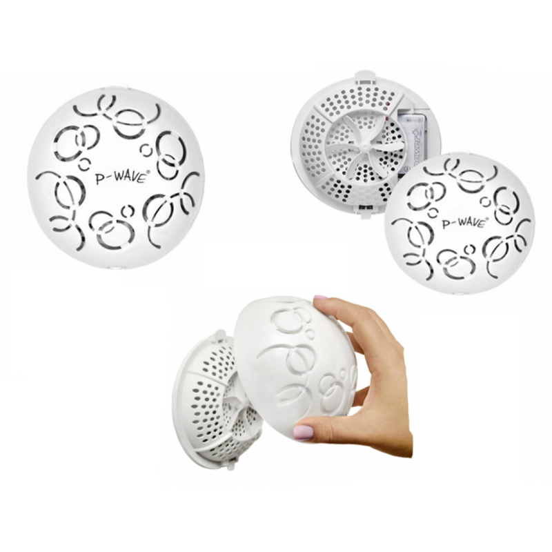 P-Wave Easy Fresh Fan Covers Fragrance {Spiced Apple} 12 Pack PLUS 1 FAN STARTER SET