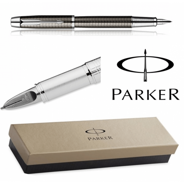 Parker Premium IM Gunmetal/Chrome Fountain Pen