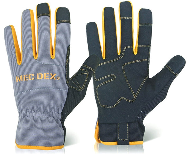 "Mechanics Gloves ""Passion Plus"" Mec Dex {All Sizes}"