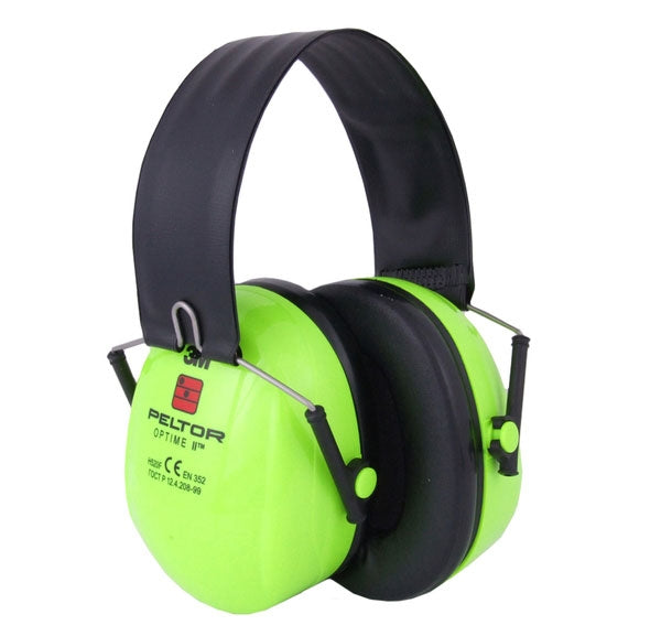 3M Peltor Optime 2 Folding Hi-Vis Ear Defenders
