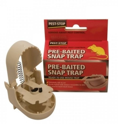 Pest-Stop Pre-Baited Snap-Trap {PSSTMB}
