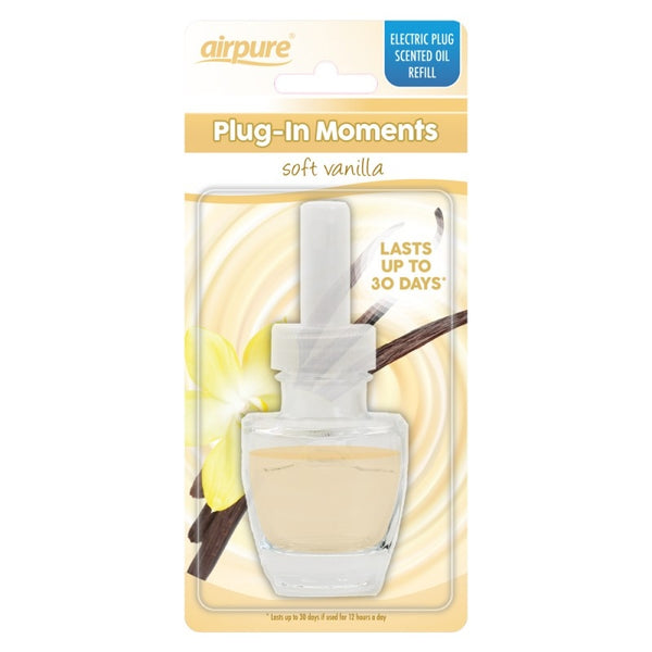 Airpure Plug In Moments Soft Vanilla Refill