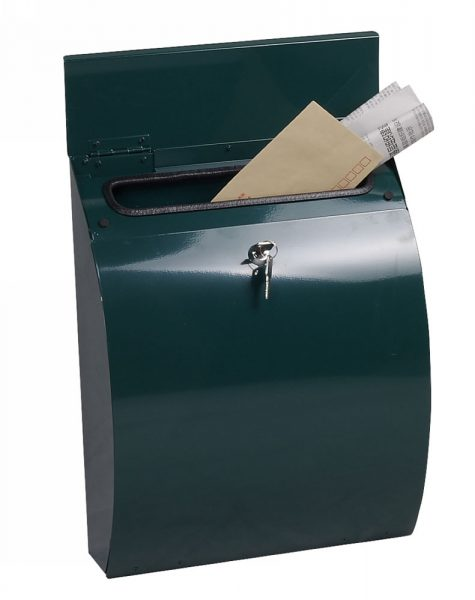 "Phoenix Mail Box ""Curvo"" MB0112KG {Green}"