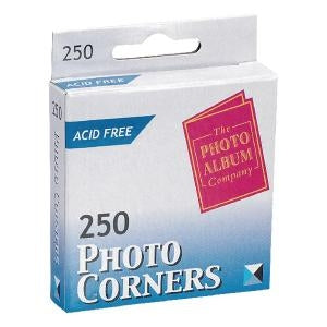 Photo Corners Self Adhesive Vinyl Clear [Pack 250]