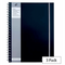 Pukka Pad Black A4 Polypropylene Jotta Notebook Pack of 3
