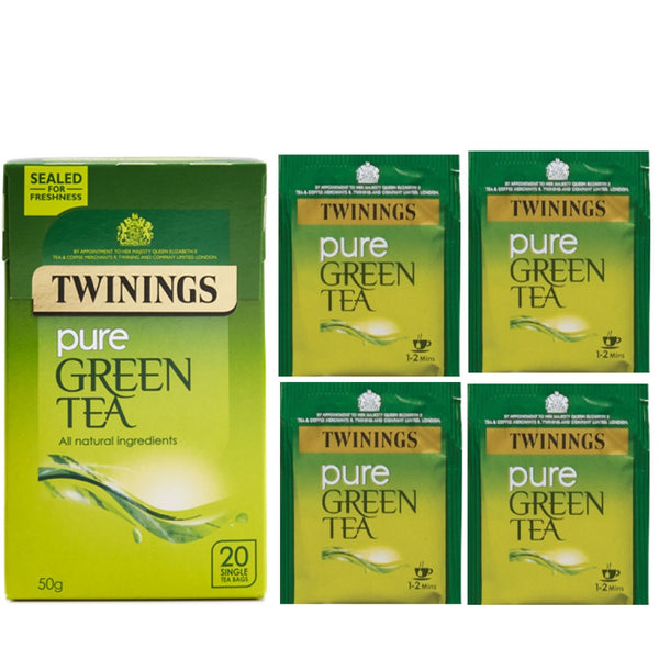 Twinings Pure Green Tea Bags (Pack of 20)