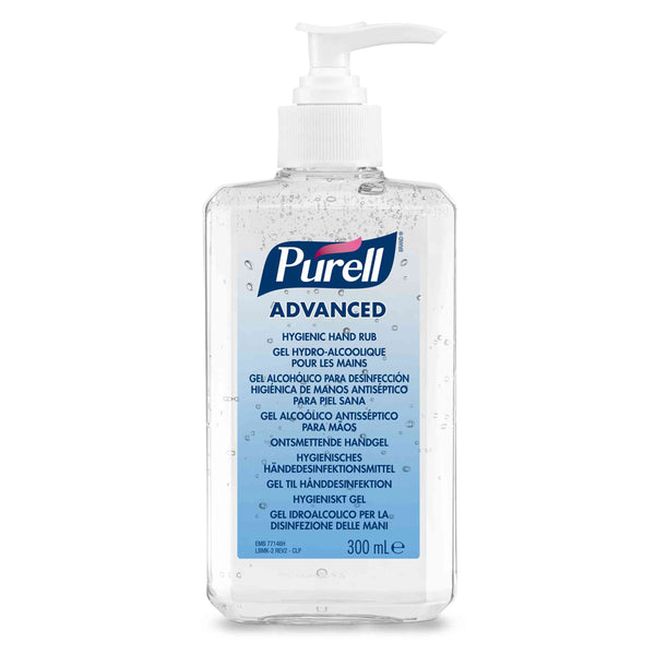 Purell Advanced Hygienic Hand Sanitizer Gel 300ml