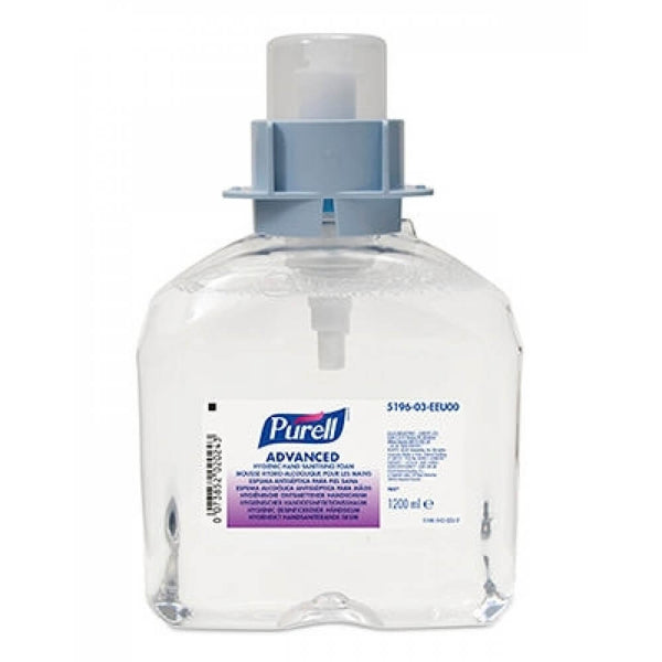 Purell FMX Advanced Hygienic Hand Sanitising Foam 1200ml {5196}
