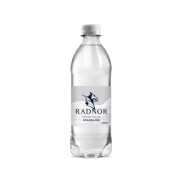 Radnor Hills Spring Sparkling Water 24 x 500ml (Plastic Bottle)
