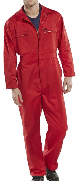 Basic Boiler Suit RED {All Sizes}