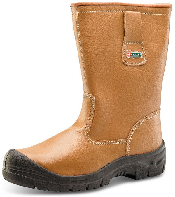 B-Click Footwear Superior Lined Rigger Boots (All Sizes)