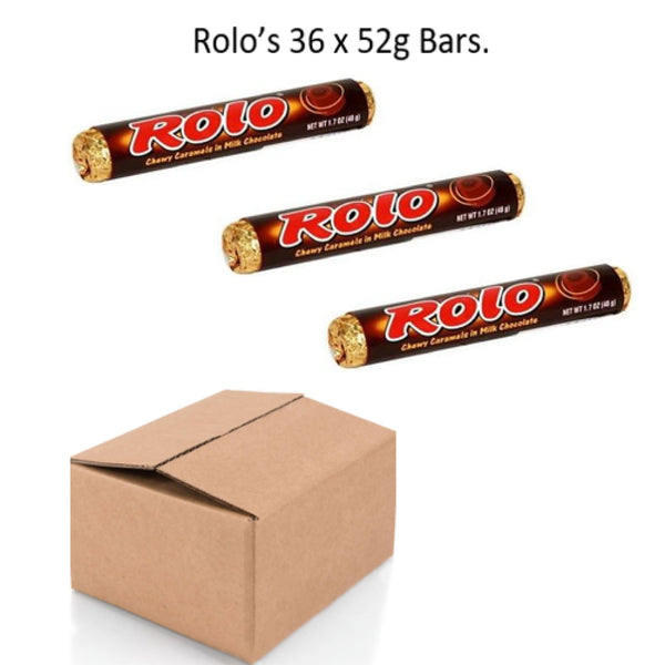 Rolos Pack 36's {Brown Box Range}