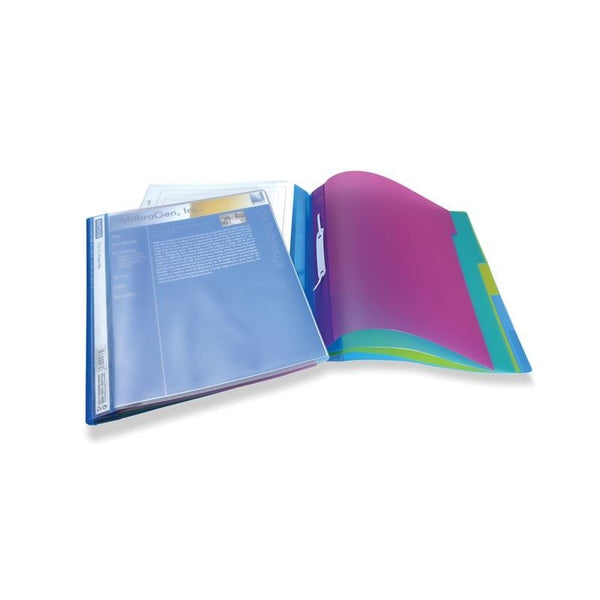 Rapesco A4+ Clear Assorted 5 Part Project File Pack 5's