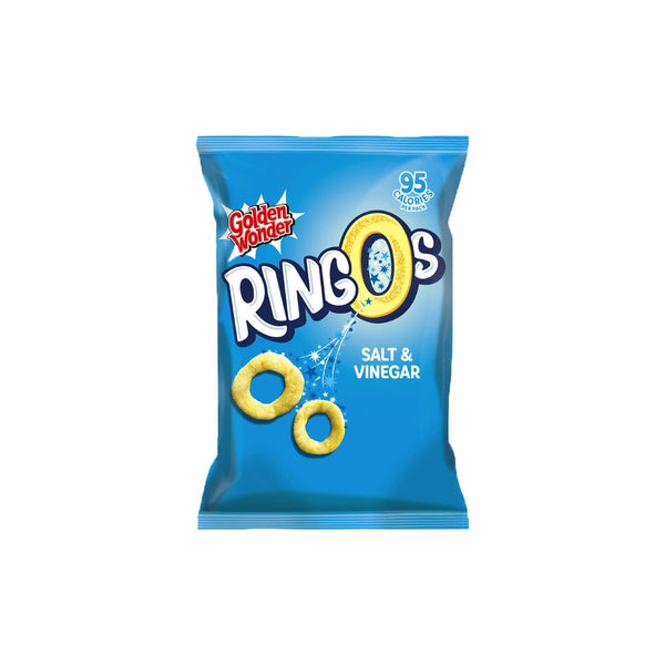 Ringos Crisps Salt & Vinegar Pack 24's
