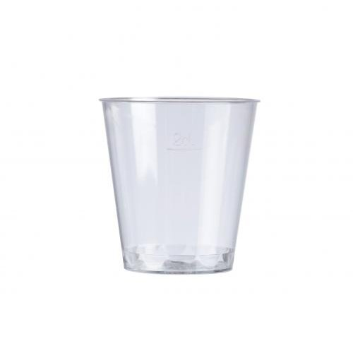 2cl Lined Shot Glasses (Pack of 100)