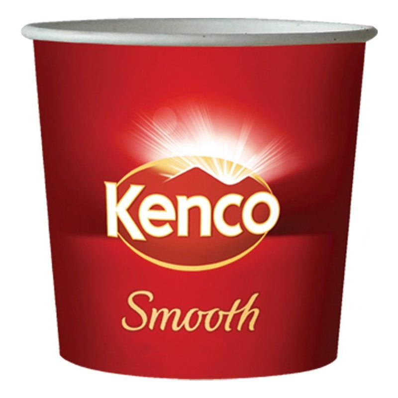 Kenco Smooth Roast White In-Cup 25's x 76mm/7oz  {25 Cups}