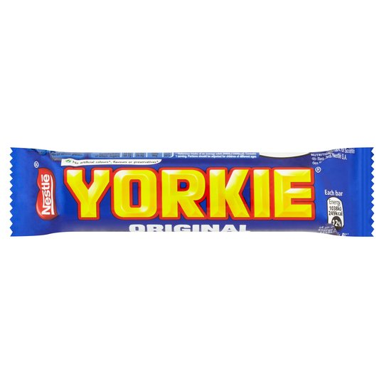 Yorkie Bar Pack 36's {Brown Box Range}