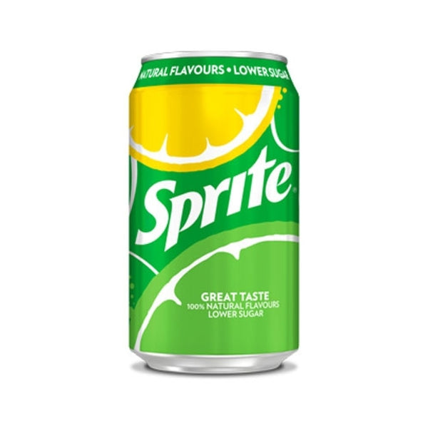 Sprite Cans Pack 24 x 330ml