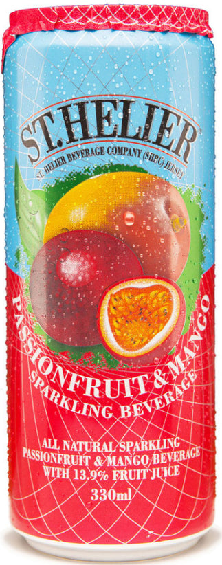 St Helier Passionfruit and Mango. 24 x 330ml