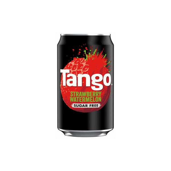 Tango Sugar Free Strawberry & Watermelon Cans 24x330ml